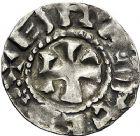 Photo numismatique  ARCHIVES VENTE 9 mars 2018 - Coll. Dr P. Corre BARONNIALES Comté d'AUVERGNE GUILLAUME II (918-926) 128- Denier, Brioude.