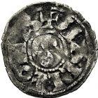Photo numismatique  ARCHIVES VENTE 9 mars 2018 - Coll. Dr P. Corre BARONNIALES Seigneurie de MAULEON SAVARI (1199-1236) 133- Denier.