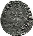 Photo numismatique  ARCHIVES VENTE 9 mars 2018 - Coll. Dr P. Corre BARONNIALES Duché d'AQUITAINE EDOUARD III (1327-1362) 137- Denier du 3e type, Bordeaux (?).