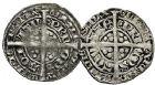 Photo numismatique  ARCHIVES VENTE 9 mars 2018 - Coll. Dr P. Corre BARONNIALES Duché d'AQUITAINE EDOUARD, prince noir (1352-1372) 138- Demi-gros (2), la Rochelle, Limoges.