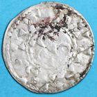 Photo numismatique  MONNAIES BARONNIALES Seigneurie d'ISSOUDUN RAOUL II (1127-1164) Denier.