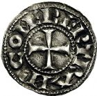 Photo numismatique  ARCHIVES VENTE 9 mars 2018 - Coll. Dr P. Corre BARONNIALES Comté de TOULOUSE BERTRAND (1106-1112) 143- Denier.