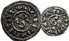 Photo numismatique  ARCHIVES VENTE 9 mars 2018 - Coll. Dr P. Corre BARONNIALES Comté de CARCASSONNE (Xe - XIe siècles) 153- Denier et obole.
