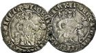 Photo numismatique  ARCHIVES VENTE 9 mars 2018 - Coll. Dr P. Corre BARONNIALES Comté de PROVENCE ROBERT d'ANJOU (1309-1343) 160- Lot de 3 carlins.