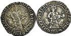 Photo numismatique  ARCHIVES VENTE 9 mars 2018 - Coll. Dr P. Corre BARONNIALES Comté de PROVENCE ROBERT d'ANJOU (1309-1343) 161- Lot de 5 carlins de Sicile.