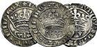 Photo numismatique  ARCHIVES VENTE 9 mars 2018 - Coll. Dr P. Corre BARONNIALES Comté de PROVENCE LOUIS III ou IV (1384-1417-1434) 165- Lot de 5 monnaies.