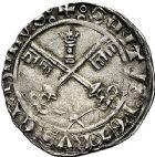 Photo numismatique  ARCHIVES VENTE 9 mars 2018 - Coll. Dr P. Corre BARONNIALES Comtat VENAISSIN MARTIN V (1417-1431) 168- Carlin, Avignon.
