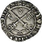 Photo numismatique  ARCHIVES VENTE 9 mars 2018 - Coll. Dr P. Corre BARONNIALES Comtat VENAISSIN EUGENE IV (1431-1447) 170- Carlin, Avignon.