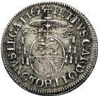 Photo numismatique  ARCHIVES VENTE 9 mars 2018 - Coll. Dr P. Corre BARONNIALES Comtat VENAISSIN INNOCENT XII (1691-1700) 174- 1/12ème d'écu, 1693.