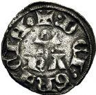 Photo numismatique  ARCHIVES VENTE 9 mars 2018 - Coll. Dr P. Corre BARONNIALES Principauté d'ORANGE RAYMOND IV (1314-1340) 177- Denier.