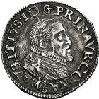 Photo numismatique  ARCHIVES VENTE 9 mars 2018 - Coll. Dr P. Corre BARONNIALES Principauté d'ORANGE MAURICE DE NASSAU (1618-1625) 181- Demi-franc, 1620.