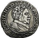 Photo numismatique  ARCHIVES VENTE 9 mars 2018 - Coll. Dr P. Corre BARONNIALES Principauté d'ORANGE FREDERIC HENRI de Nassau (1625-1647) 183- Teston, type V.