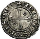 Photo numismatique  ARCHIVES VENTE 9 mars 2018 - Coll. Dr P. Corre BARONNIALES Evêché de VALENCE et de DIE JEAN DE Genève (1285-1297) 188- Gros.