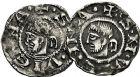 Photo numismatique  ARCHIVES VENTE 9 mars 2018 - Coll. Dr P. Corre BARONNIALES Archevêché de VIENNE HENRI LE NOIR Roi de Bourgogne (1038-1056) 191- Lot de 5 monnaies.