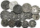 Photo numismatique  ARCHIVES VENTE 9 mars 2018 - Coll. Dr P. Corre BARONNIALES Archevêché de VIENNE (Vers 1150-1200-1240) 193- Lot de 16 monnaies.