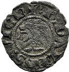 Photo numismatique  ARCHIVES VENTE 9 mars 2018 - Coll. Dr P. Corre BARONNIALES Evêché de GRENOBLE L'évêque et le dauphin Humbert Ier. 194- Denier (1281-1307).