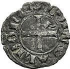 Photo numismatique  ARCHIVES VENTE 9 mars 2018 - Coll. Dr P. Corre BARONNIALES Dauphins du VIENNOIS JEAN II (1307-1319) 195- Denier ou quart de gros.