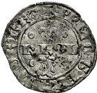Photo numismatique  ARCHIVES VENTE 9 mars 2018 - Coll. Dr P. Corre BARONNIALES Dauphins du VIENNOIS CHARLES (1349-1364), futur CHARLES V de France 196- Double denier.