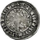 Photo numismatique  ARCHIVES VENTE 9 mars 2018 - Coll. Dr P. Corre BARONNIALES Dauphins du VIENNOIS CHARLES dauphin et roi (1364-1380) 199- Dizain. Autre exemplaire.
