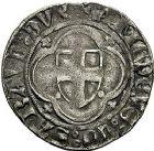Photo numismatique  ARCHIVES VENTE 9 mars 2018 - Coll. Dr P. Corre BARONNIALES Duché de SAVOIE AMEDEE VIII (1391-1434) 206- Demi-gros Chambéry et obole.