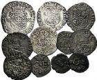 Photo numismatique  ARCHIVES VENTE 9 mars 2018 - Coll. Dr P. Corre BARONNIALES Duché de SAVOIE EMMANUEL-PHILIBERT et CHARLES-EMMANUEL Ier 207- Lot de 11 monnaies