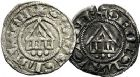 Photo numismatique  ARCHIVES VENTE 9 mars 2018 - Coll. Dr P. Corre BARONNIALES Evêché de LAUSANNE (XIIe - XIIIe siècles) 208- Lot de 4 deniers.