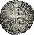 Photo numismatique  ARCHIVES VENTE 9 mars 2018 - Coll. Dr P. Corre BARONNIALES Seigneurie de TREVOUX PIERRE II de Bourbon (1488-1503) 209- Blanc.