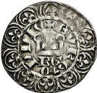 Photo numismatique  ARCHIVES VENTE 9 mars 2018 - Coll. Dr P. Corre BARONNIALES Duché de BOURGOGNE EUDES IV (1315-1349) 218- Maille blanche avec BG, après mars 1323.