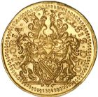 Photo numismatique  ARCHIVES VENTE 9 mars 2018 - Coll. Dr P. Corre BARONNIALES Alsace - STRASBOURG  220- Ducat de prestige. Strasbourg, s.d. (à partir de 1681).