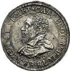Photo numismatique  ARCHIVES VENTE 9 mars 2018 - Coll. Dr P. Corre BARONNIALES Landgraviat d'ALSACE et Comté de HANAU-LICHTENBERG  221- Lot de 2 monnaies.