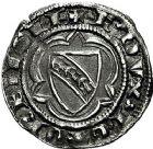 Photo numismatique  ARCHIVES VENTE 9 mars 2018 - Coll. Dr P. Corre BARONNIALES Duché de LORRAINE RAOUL (1329-1346).  224- RAOUL (1329-1346). 1/4 de gros, Nancy.