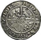 Photo numismatique  ARCHIVES VENTE 9 mars 2018 - Coll. Dr P. Corre BARONNIALES Duché de LORRAINE RENE Ier (1419-1480) 228-  Gros et demi-gros, Nancy.