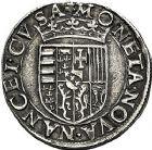 Photo numismatique  ARCHIVES VENTE 9 mars 2018 - Coll. Dr P. Corre BARONNIALES Duché de LORRAINE CHARLES III (1545-1608) 232- Teston, Nancy.
