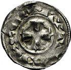 Photo numismatique  ARCHIVES VENTE 9 mars 2018 - Coll. Dr P. Corre BARONNIALES Comté d'AUXERRE (XIIe-XIIIe siècles) 241- Lot de 3 monnaies.