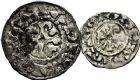 Photo numismatique  ARCHIVES VENTE 9 mars 2018 - Coll. Dr P. Corre BARONNIALES Comté de TROYES (Xe siècle) 242- Denier et obole.
