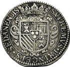 Photo numismatique  ARCHIVES VENTE 9 mars 2018 - Coll. Dr P. Corre BARONNIALES Principauté de SEDAN HENRI de la Tour d'Auvergne (1594-1623) 248- Ecu de 30 sols ou patards, Sedan 1613.