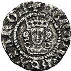 Photo numismatique  ARCHIVES VENTE 9 mars 2018 - Coll. Dr P. Corre BARONNIALES Territoire de CALAIS HENRI VI, roi d'Angleterre (1422-1453) 252- Demi-gros et demi-penny.