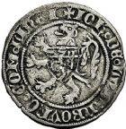 Photo numismatique  ARCHIVES VENTE 9 mars 2018 - Coll. Dr P. Corre BARONNIALES Seigneurie d'ÉLINCOURT JEAN III de Luxembourg (1430-1440) 253- Gros cromsteert.