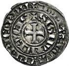Photo numismatique  ARCHIVES VENTE 9 mars 2018 - Coll. Dr P. Corre BARONNIALES Seigneurie de CREVECOEUR JEAN de Flandre (1308/1310-1324) 254- Baudekin, 3eémission 1311/1312.