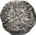 Photo numismatique  ARCHIVES VENTE 9 mars 2018 - Coll. Dr P. Corre BARONNIALES Comté de HAINAUT MARGUERITE II d'Avesnes (1345-1356) 260- Gros vaillant, Valenciennes.