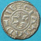Photo numismatique  MONNAIES BARONNIALES Vicomté de LIMOGES Type d'Eudes (vers 1020-1100) Grand denier.