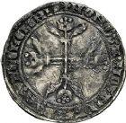 Photo numismatique  ARCHIVES VENTE 9 mars 2018 - Coll. Dr P. Corre BARONNIALES Comté de HAINAUT ALBERT de Bavière (1389-1404) 261- Double gros à l'aigle.
