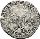 Photo numismatique  ARCHIVES VENTE 9 mars 2018 - Coll. Dr P. Corre BARONNIALES Comté de HAINAUT JEAN IV de Brabant (1418-1427) 262- Double gros drielander.
