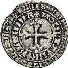 Photo numismatique  ARCHIVES VENTE 9 mars 2018 - Coll. Dr P. Corre BARONNIALES Comté de HOLLANDE GUILLAUME V de Bavière (1350-1389) 267- Double gros botdraeger.