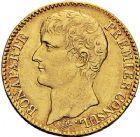 Photo numismatique  ARCHIVES VENTE 9 mars 2018 - Coll. Dr P. Corre MODERNES FRANÇAISES LE CONSULAT (à partir du 24 décembre 1799-18 mai 1804) Bonaparte 1er Consul 270- 40 francs, Paris an 12.