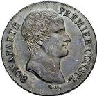 Photo numismatique  ARCHIVES VENTE 9 mars 2018 - Coll. Dr P. Corre MODERNES FRANÇAISES LE CONSULAT (à partir du 24 décembre 1799-18 mai 1804)  272- 5 francs, Paris an 12.
