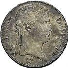 Photo numismatique  ARCHIVES VENTE 9 mars 2018 - Coll. Dr P. Corre MODERNES FRANÇAISES NAPOLEON Ier - Les Cents-Jours (20 mars au 22 juin 1815)  279- 5 francs, Paris 1815.
