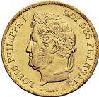 Photo numismatique  ARCHIVES VENTE 9 mars 2018 - Coll. Dr P. Corre MODERNES FRANÇAISES LOUIS-PHILIPPE Ier (9 août 1830-24 février 1848)  288- 40 francs or, Paris 1833.