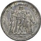 Photo numismatique  ARCHIVES VENTE 9 mars 2018 - Coll. Dr P. Corre MODERNES FRANÇAISES LOUIS PHILIPPE et NAPOLEON III  289- Lot de 2 monnaies : 5 francs 1834 et 5 francs 1849.