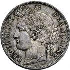 Photo numismatique  ARCHIVES VENTE 9 mars 2018 - Coll. Dr P. Corre MODERNES FRANÇAISES 2ème RÉPUBLIQUE (24 février 1848-2 décembre 1852)  290- 5 francs, Paris 1850.